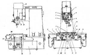Станок координатно-расточной 2Д450