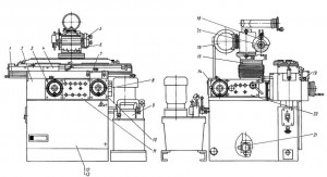 Станок универсально-заточной 3Д642Е