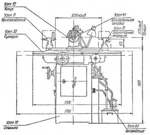 Универсальный заточной станок 3А64Д