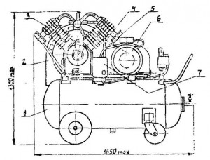 Установка компрессорная серии К