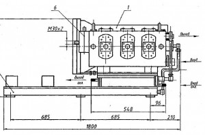 Установка насосная УНЛ 160-400