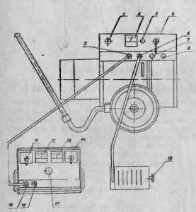 Установка сварочно-зарядная УДЗ-103У2