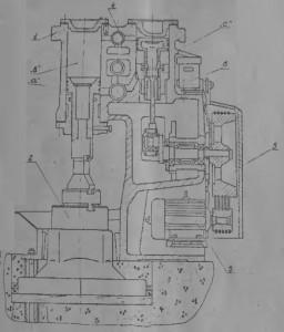 Молот ковочный МА 4132