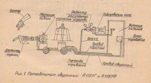 Полуавтомат сварочный А-1197Ф(Г) типа ПДФ-501(513)УЗ