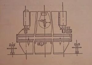Пресс листогибочный гидравлический усилием 1000кН ИБ1430А
