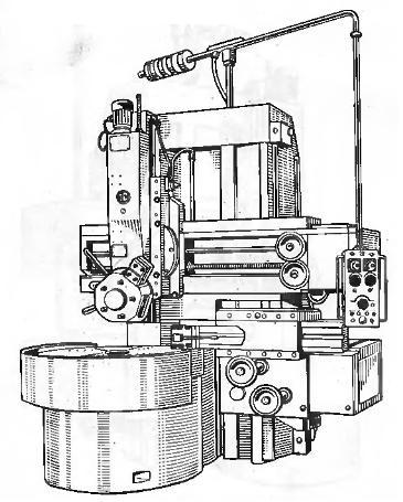 Схемы на токарно-карусельный 1512