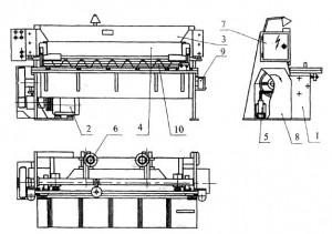Установка для резки листового и профильного материала НГ4-2,5