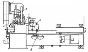 Автомат ножовочный с дуговой траекторией движения инструмента 8А725