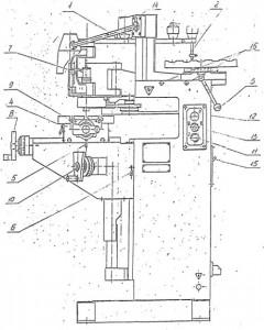 Станок гравировальный фрезерный 6Е463