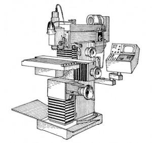 Станок инструментальный фрезерный 67К25ПФ2-0