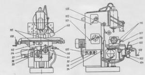 Станок консольно-фрезерный универсальный 6Р81Г