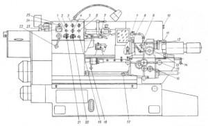 Станок токарно–револьверный 1К341