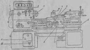 Станок токарно-винторезный 1А616К