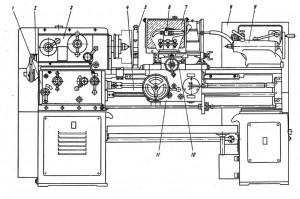 Станок токарно-винторезный 1М61, 1М61П