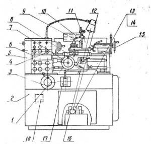 Станок токарно-винторезный 16Б05А
