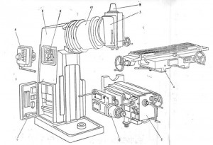 Станок фрезерный консольный ВМ127
