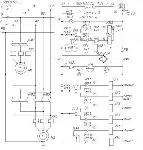 Стенд шиномонтажный Ш515М