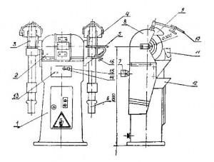 Точильный станок 3Б-633