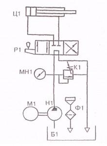 Установка для выпрессовки шкворень П-5
