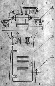 Станок для алмазной заточки и доводки твердосплавных резцов 3С64К