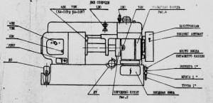 Автомат многошпиндельный токарный горизонтальный 1А240
