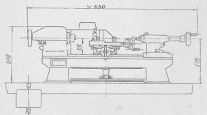 Станок настольный токарный Т-28