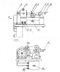 Станок настольный токарный 16Т02П и 16Т02А