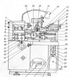 Станок токарно-винторезный повышенной точности ОТ-5