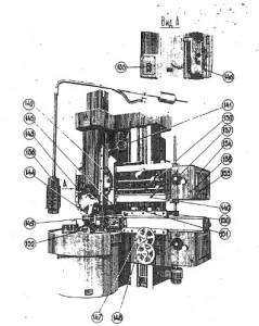 Станок токарно-карусельный 1541, 1531М