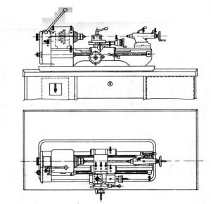 Станок токарный Mn80A