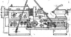 Станок трубонарезной 9М14