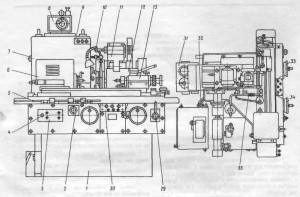 Станок универсальный круглошлифовальный 3К12