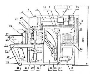 Полуавтоматическая выдувная установка ПВМУ-2